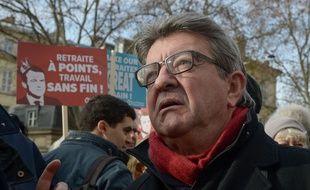 Jean-Luc Mélenchon continue de se mobiliser contre la réforme des retraites.