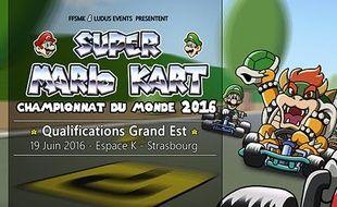 Le championnat du monde de «Super Mario Kart» fera étape à Strasbourg