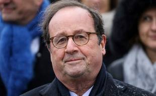 François Hollande, lors des commémorations du 11 novembre 2019.