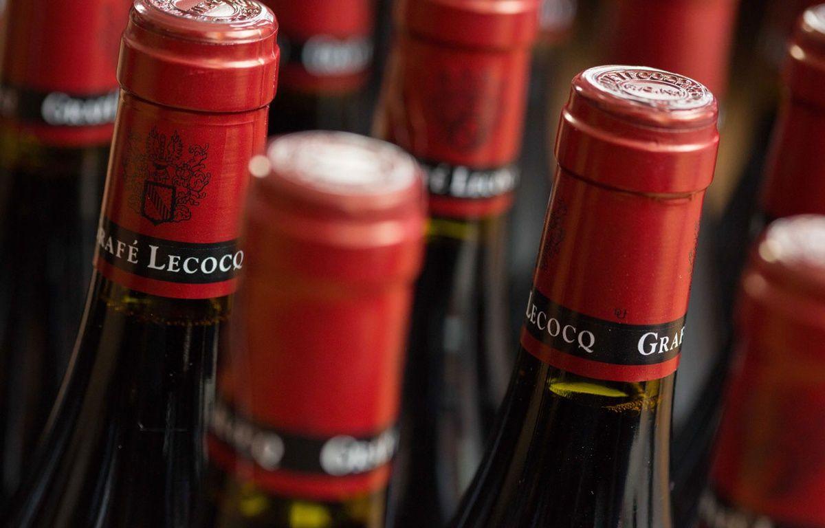 Illustration de bouteilles de vin. – ISOPIX/SIPA