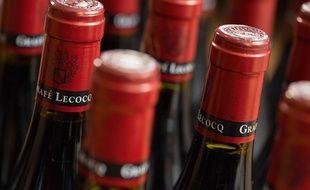 Des bouteilles de vin (illustration).