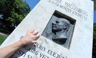 Mémorial de Raoul Wallenberg à Budapest, le 1er août 2012