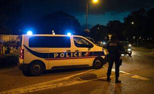 Vendredi soir, après l'attentat à Conflans-Sainte-Honorine