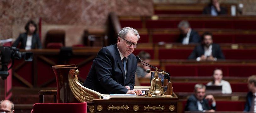 Richard Ferrand, président de l'Assemblée nationale, le 9 juin 2020.