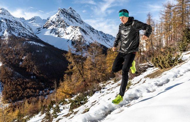 Martin Kern, ici lors d'un entraînement à la montagne en fin d'année 2019.