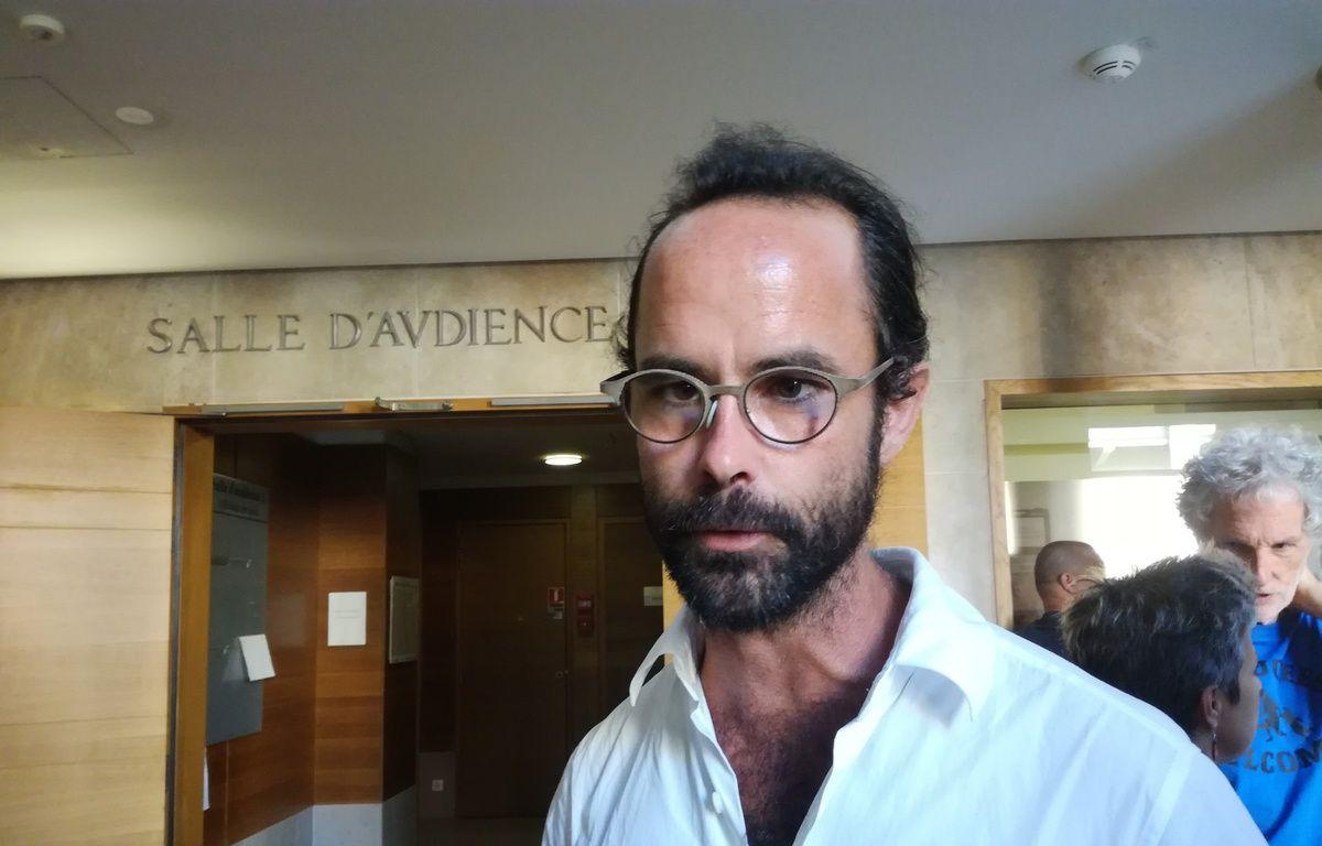 Cédric Herrou à son procès en appel – Mathilde Ceilles / 20 Minutes