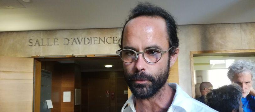 Cédric Herrou à son procès en appel