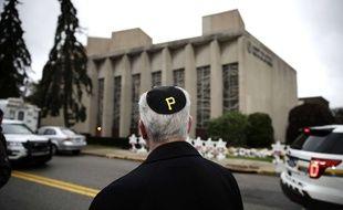 Un rabbin dans la ville de Pittsburgh aux Etats-Unis.