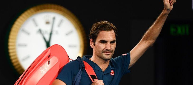Federer, après sa défaite contre Tsitsipas