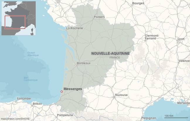 La drame s'est produit à Messanges, dans les Landes.