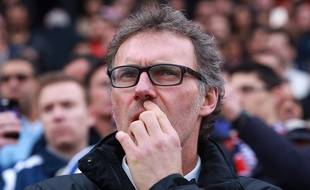 Laurent Blanc à Bordeaux, le 15 mars 2015.