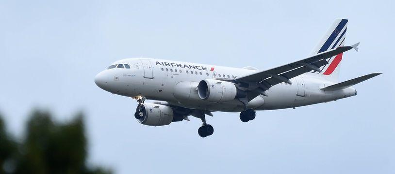 Un avion d'Air France, le 19 mars 2021.