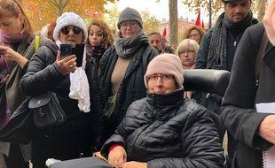 Odile Maurin, égérie des Gilets Jaunes toulousains, était jugé vendredi devant le tribunal correctionnel de Toulouse.
