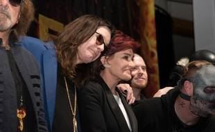 Ozzy et Sharon Osbourne à Los Angeles