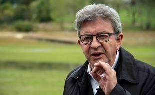 Jean-Luc Mélenchon le 2 octobre 2020 dans le Doubs.