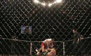 Un combat UFC le 3 septembre 2010 à Mandala Bay