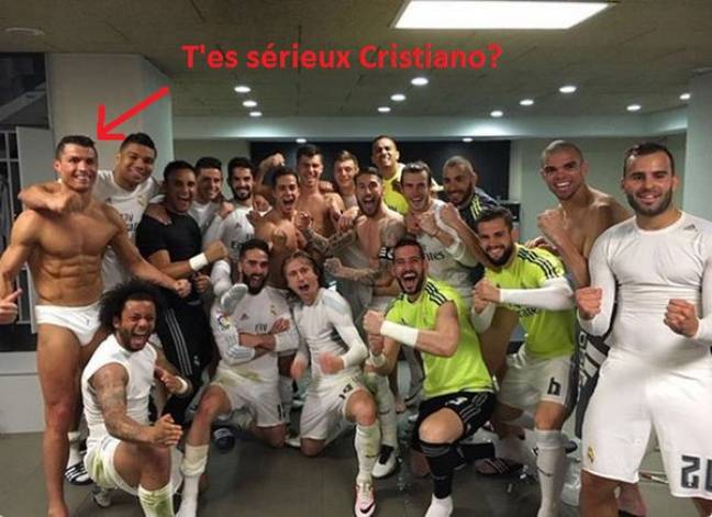 Cristiano dans ses oeuvres