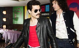 Rami Malek et Gwilym Lee dans le biopic «Bohemian Rhapsody».
