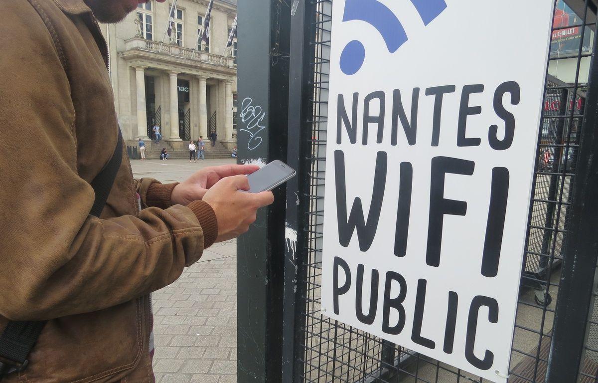 Nantes lance un service de Wi-fi gratuit – J. Urbach/ 20 Minutes