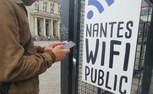 Nantes lance un service de Wi-fi gratuit