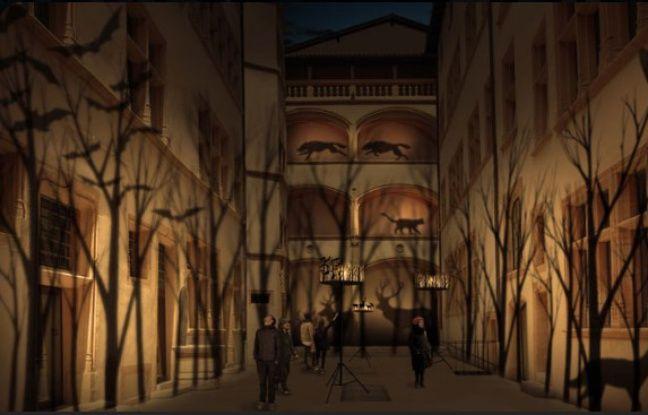 Pour profiter de façon plus intimiste de la Fête des lumières, rendez-vous dans la cour des Musées Gadagne.