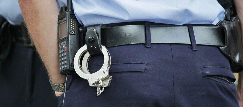 Illustration d'un agent de police.