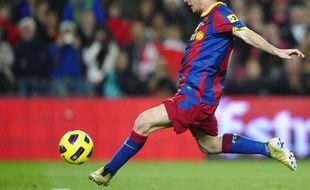 L'Argentin du Barça Lionel Messi, le 14 novembre dernier, contre Villareal.