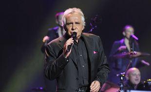 Michel Sardou à Nice, le 5 mai 2011.