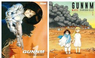 «Gunnm» ressort en édition originale, avec sa suite «Gunnm Mars Chronicle»