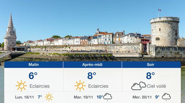 Météo La Rochelle: Prévisions du dimanche 17 novembre 2019 - 20minutes.fr
