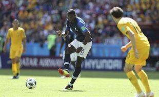 Pogba face à l'Australie, le 16 juin 2018.