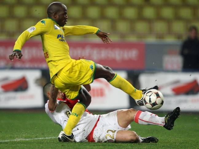 Le défenseur Ibrahim Tall en 2009.