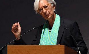 La directrice générale du FMI Christine Lagarde à Tokyo le 12 septembre 2014