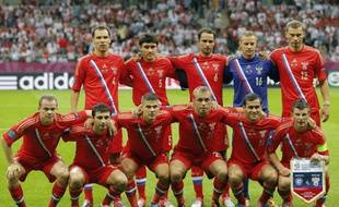 L'équipe russe, éliminée de l'Euro 2012 en phase de pouole, se fait massacrer par la presse russe.