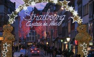Illustrations Noël, Marché de Noël de Strasbourg.