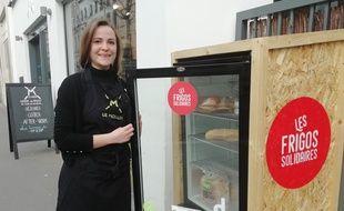 Le premier frigo solidaire de Lyon est accessible depuis le 25 janvier devant le restaurant Le Moulin à Vaise.