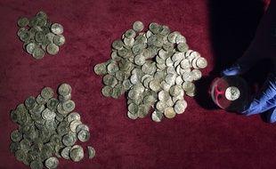 Un trésor découvert en Angleterre et exposé au British Museum en 2015 (image d'illustration).