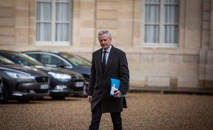 Le 10 décembre 2018 à Paris,Bruno Le Maire. Laurence Geai/SIPA