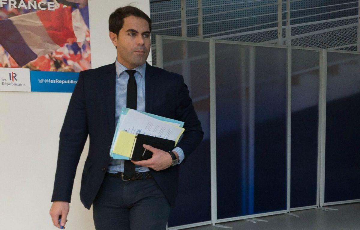 Lionel Moisy de Cala, directeur de la communication des Républicains. – Witt