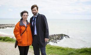 Olivia Colman et David Tennant dans la saison 2 de «Broadchurch».