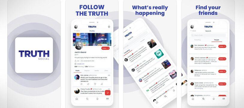 Donald Trump a annoncé le lancement de son réseau social Truth Social, le 20 octobre 2021.