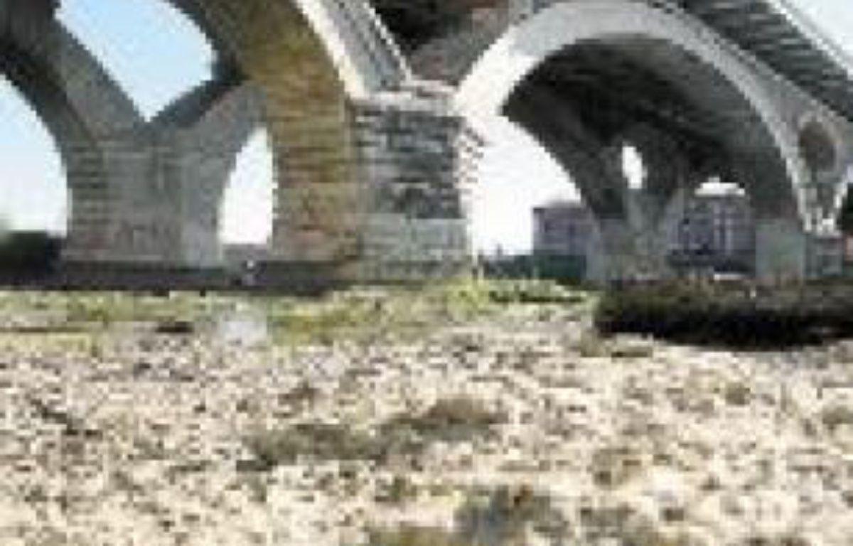 Le débit de la Garonne devrait encore baisser d'ici à 40 ans. –  F. Scheiber/20 minutes