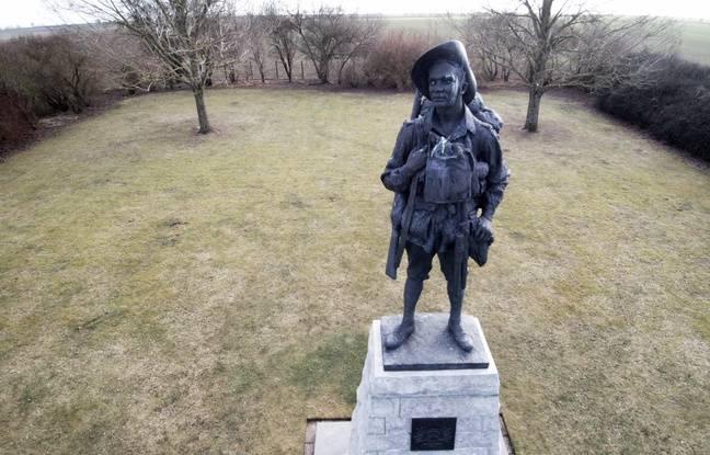 Le Memorial australien de Bullecourt, près d'Arras.