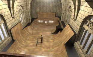 Un skate park dans la chapelle du Martray?