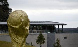 Le centre national de football de Clairefontaine, dans les Yvelines.