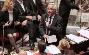 Le ministre du Travail François Rebsamen à l'Assemblée nationale le 1er juillet 2014