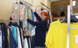 Dans le magasin de Sophie Buduca, les tailles vont du 46 au 62.
