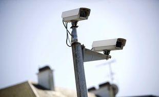 Illustration de caméras de vidéosurveillance.