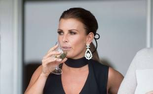 Coleen Rooney au Grand National Day Festival, 12 avril 2018