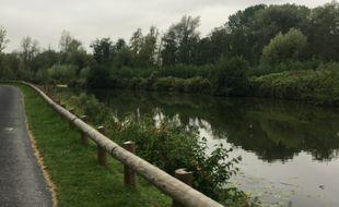 La rivière Sambre dans le Nord.